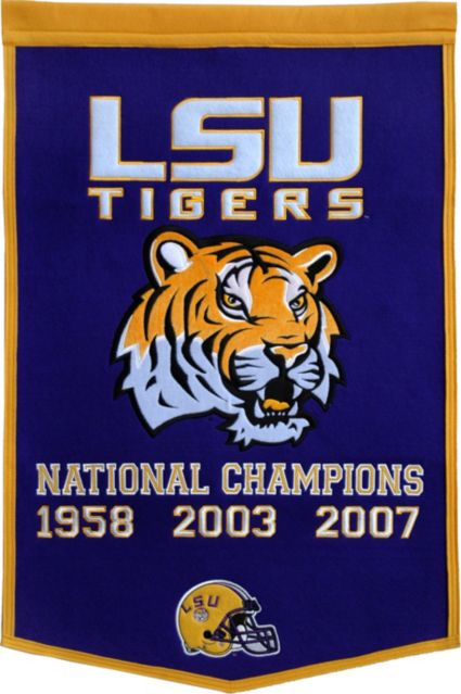 LSU Tigers Football National Champions Banner. noImageFound 540c6f9f6992