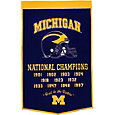 Michigan Wolverines Football National Champions Banner