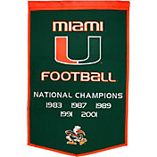Miami Hurricanes Football National Champions Banner