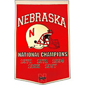 Nebraska Cornhuskers Football National Champions Banner