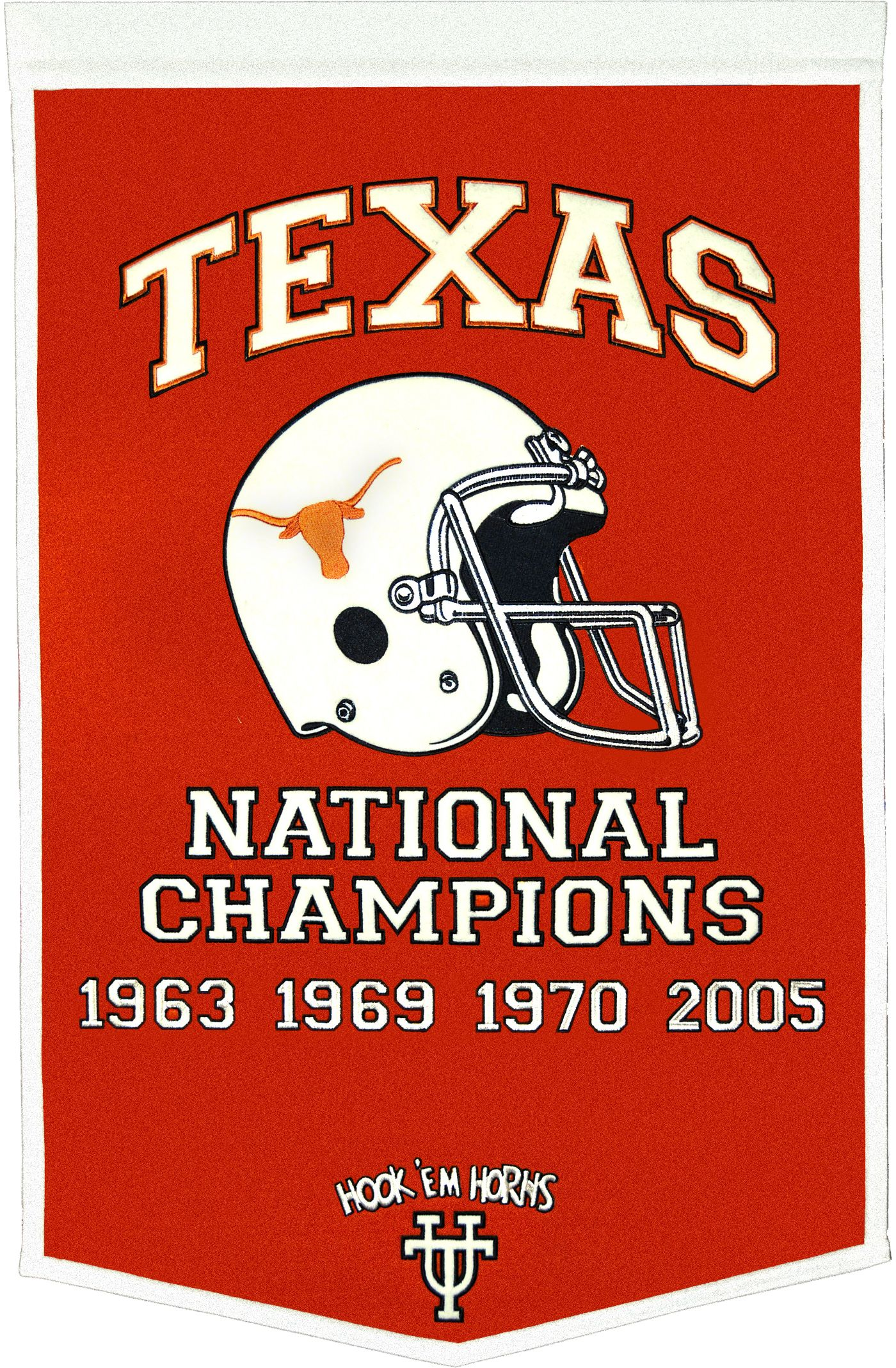 Texas Longhorns Football National Champions Banner