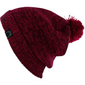 Yaktrax Men's Cozy Solid Pom Beanie