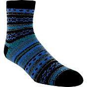Yaktrax Men's Cozy Cabin Nordic Crew Socks