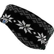 Yaktrax Women's Cozy Large Snowflake Headband
