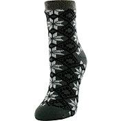 Yaktrax Women's Cozy Cabin Socks