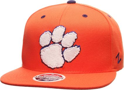online store b5d8c ad37d Zephyr Men s Clemson Tigers Orange Z11 Snapback Hat