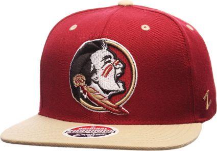 dadd036a35740 Zephyr Men s Florida State Seminoles Garnet Gold Z11 Snapback Hat.  noImageFound