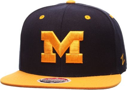 Zephyr Men s Michigan Wolverines Blue Maize Z11 Snapback Hat. noImageFound beaafaf4bebd