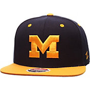 Zephyr Men's Michigan Wolverines Blue/Maize Z11 Snapback Hat