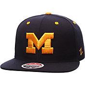 Zephyr Men's Michigan Wolverines Blue Z11 Snapback Hat