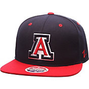 Zephyr Men's Arizona Wildcats Navy/Cardinal Z11 Snapback Hat
