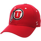 Zephyr Men's Utah Utes Crimson Competitor Adjustable Hat