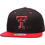 Zephyr Men's Texas Tech Red Raiders Black/Red Z11 Snapback Hat