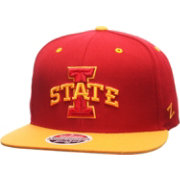 Zephyr Men's Iowa State Cyclones Cardinal/Gold Z11 Snapback Hat