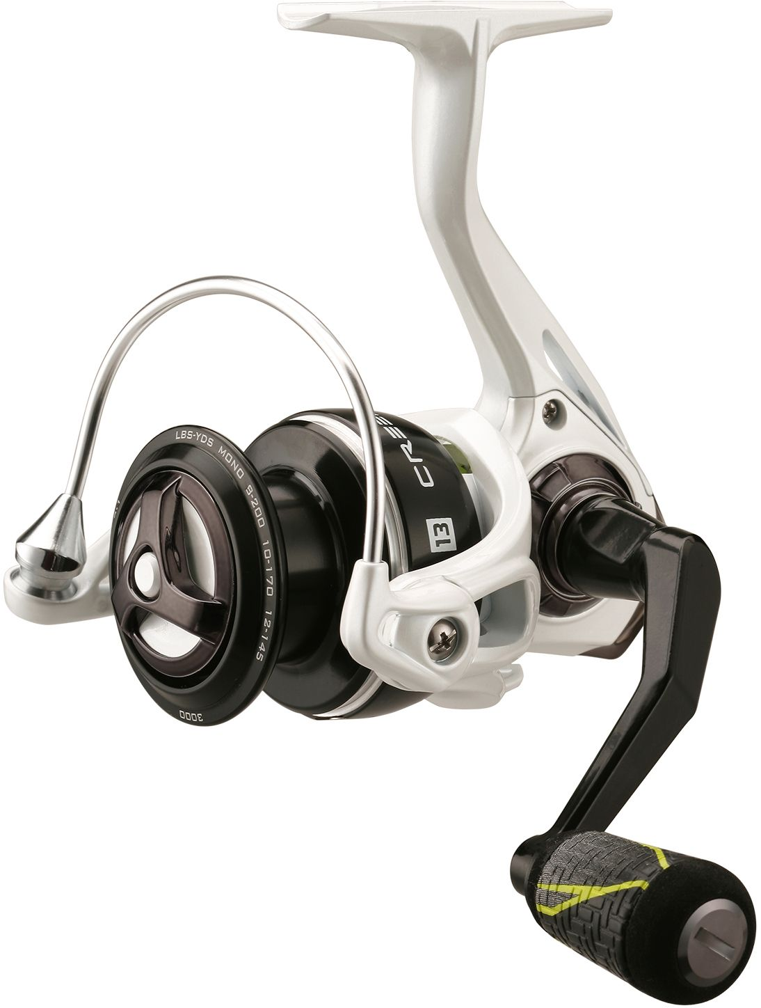 13 Fishing Creed LTE Spinning Reel, 3000, Aluminum