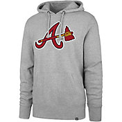 '47 Men's Atlanta Braves Headline Pullover Hoodie
