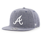 '47 Men's Atlanta Braves Emery Captain Adjustable Snapback Hat