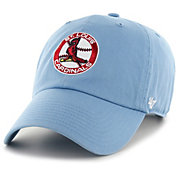 '47 Men's St. Louis Cardinals Clean Up Light Blue Adjustable Hat