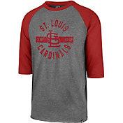 '47 Men's St. Louis Cardinals Club Three-Quarter Sleeve Shirt