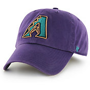 '47 Men's Arizona Diamondbacks Clean Up Purple Adjustable Hat