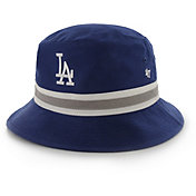 '47 Men's Los Angeles Dodgers Striped Bucket Hat
