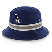 '47 Men's Los Angeles Dodgers Striped Bucket Hat