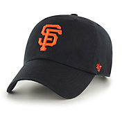 '47 Men's San Francisco Giants Clean Up Black Adjustable Hat