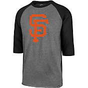 '47 Men's San Francisco Giants Club Three-Quarter Sleeve Shirt