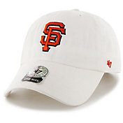 '47 Men's San Francisco Giants Clean Up White Adjustable Hat