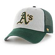 '47 Men's Oakland Athletics Ravine Closer Grey/Green Fitted Hat