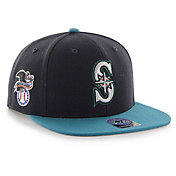 '47 Men's Seattle Mariners Sure Shot Captain Navy Adjustable Snapback Hat