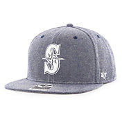 '47 Men's Seattle Mariners Emery Captain Adjustable Snapback Hat