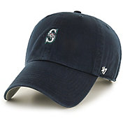'47 Men's Seattle Mariners Base Runner Clean Up Navy Adjustable Hat