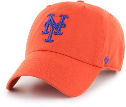 99e1fe4ca8c 47 Men s New York Mets Clean Up Orange Adjustable Hat