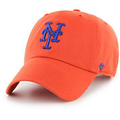 '47 Men's New York Mets Clean Up Orange Adjustable Hat