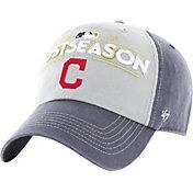 '47 Men's Cleveland Indians 2017 MLB Postseason Locker Room Adjustable Hat