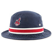 '47 Men's Cleveland Indians Striped Bucket Hat