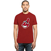 '47 Men's Cleveland Indians Red Club T-Shirt