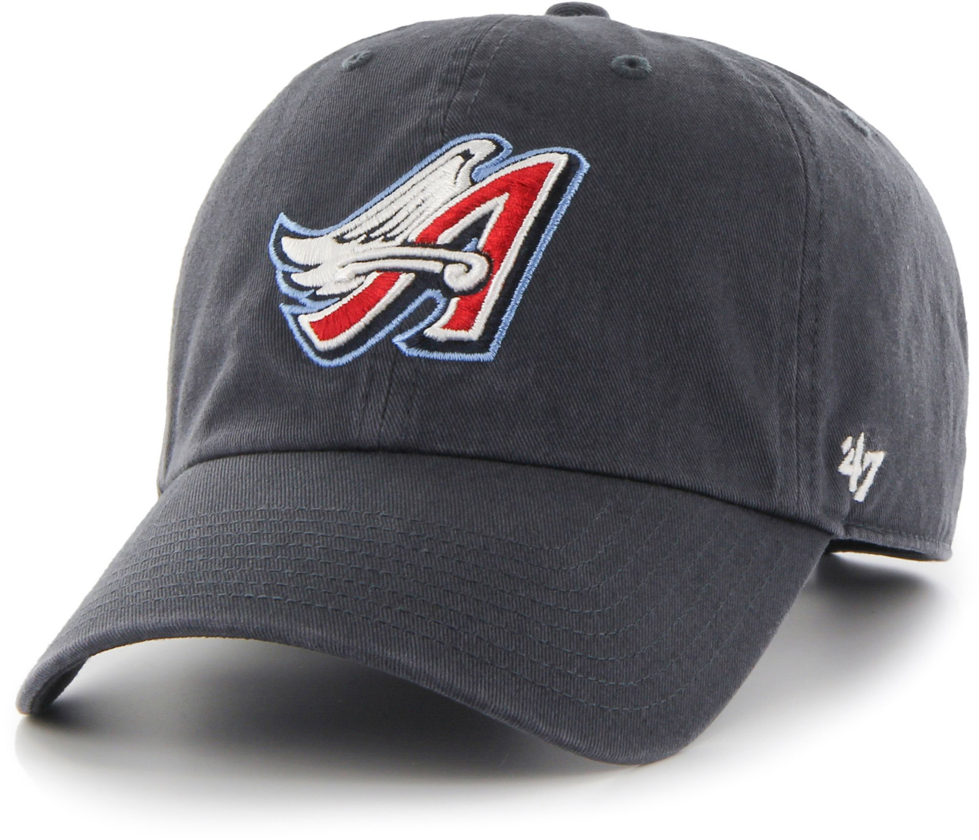 low cost b058e f45dc ... reduced 47 mens los angeles angels clean up navy adjustable hat 5f6d4  25eb6