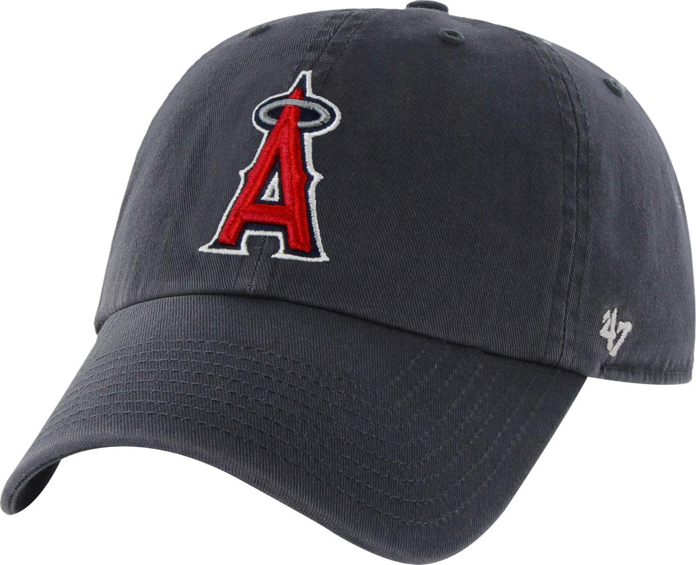 '47 Men's Los Angeles Angels Clean Up Navy Adjustable Hat