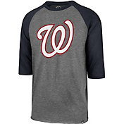 '47 Men's Washington Nationals Club Three-Quarter Sleeve Shirt