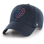 '47 Men's Washington Nationals Spring Banner Clean Up Navy Adjustable Hat