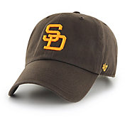 '47 Men's San Diego Padres Clean Up Brown Adjustable Hat