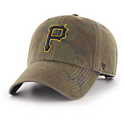 '47 Men's Pittsburgh Pirates Sector Camo Clean Up Adjustable Hat