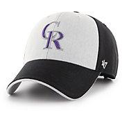 '47 Men's Colorado Rockies Huntsburg MVP Adjustable Hat