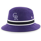 '47 Men's Colorado Rockies Striped Bucket Hat