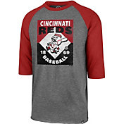 '47 Men's Cincinnati Reds Club Three-Quarter Sleeve Shirt