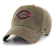 '47 Men's Cincinnati Reds Sector Camo Clean Up Adjustable Hat