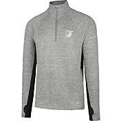 '47 Men's Baltimore Orioles Grey Quarter-Zip Pullover