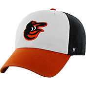 '47 Men's Baltimore Orioles Clean Up White/Black Adjustable Hat